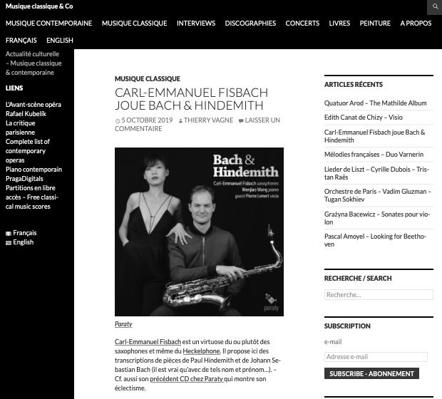 Preview of Thierry  Vagne, Musique classique & Co, http://vagnethierry.fr