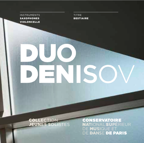 Cover of Duo Denisov (2014): Bestiaire