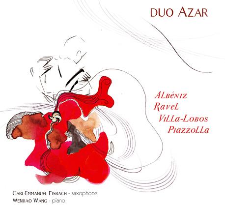 Cover of Duo Azar (2011) : Albéniz, Ravel, Villa-Lobos, Piazzolla