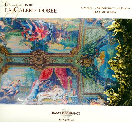 Cover of Neva Quartet (2010) : Les concerts de la Galerie Dorée
